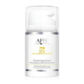 APIS Discolouration-Stop Home terApis Rozjaśniający krem redukujący przebarwienia na noc 50 ml