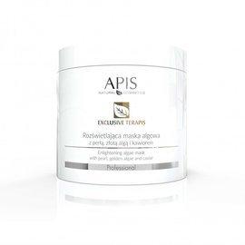 APIS Exclusive terApis rozświetlająca maska algowa z perłą, złotą algą i kawiorem 250 g