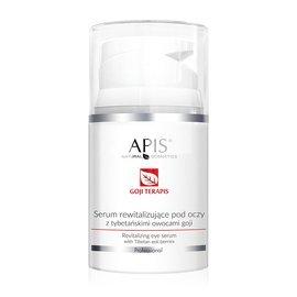 Rewitalizujące serum pod oczy z tybetańskimi owocami goji APIS Goji Terapis 50 ml