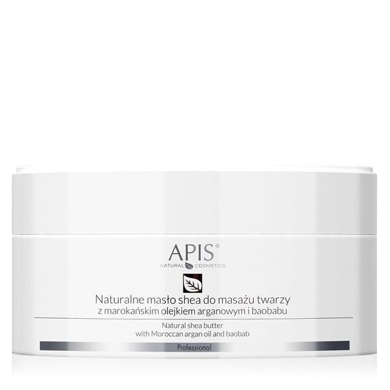 APIS Regeneration Naturalne masło shea do masażu twarzy 100 g
