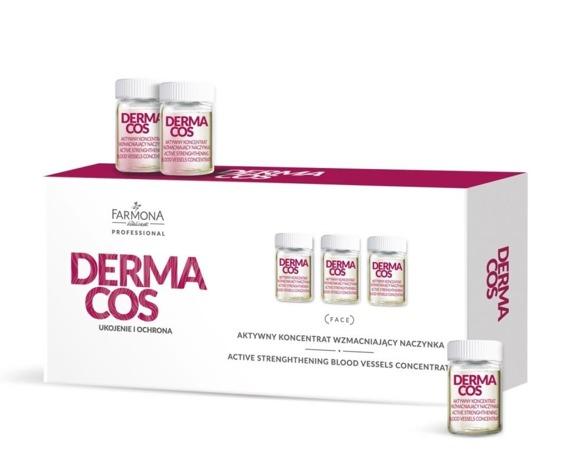 Farmona Dermacos Aktywny Koncentrat Wzmacniający Naczynka 10x5ml