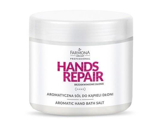 Farmona Hands Repair Aromatyczna sól do kąpieli dłoni 500 g