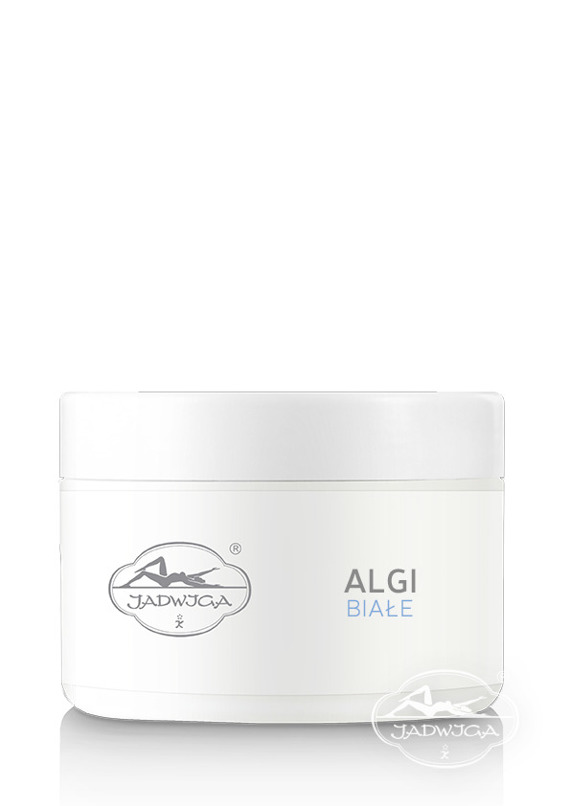 Jadwiga  Saipan Algi Białe maska gumowa uspokajająca - regenerująca - odżywcza, błyskawiczny lift 250 ml