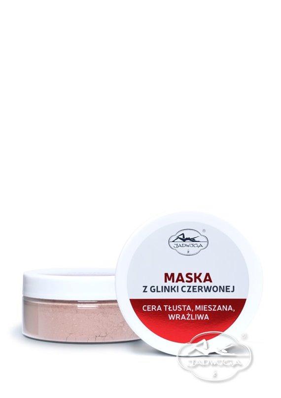 Jadwiga  Saipan Maska z Glinki Czerwonej 100 ml