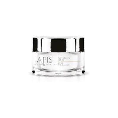 Krem ochronny SPF 30 dla cery wrażliwej, delikatnej, z przebarwieniami Apis Home Terapis 50 ml