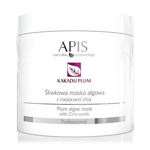 Maska algowa śliwkowa z nasionami chia Apis Kakadu Plum 250 g
